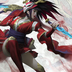 Blood Moon Akali Splash Update Concept 6 (by Riot Artist <a rel=
