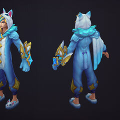 Pajama Guardian Ezreal Model 1 (By Riot Artist <a rel=