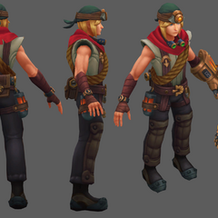 Explorer Ezreal Update Model