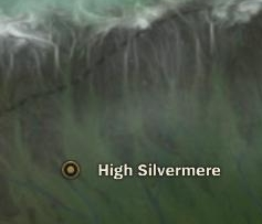 High Silvermere map
