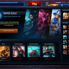 Riot Store Home page as of Sep. 25, 2011.