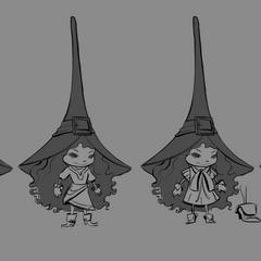 Estudio del vestuario de Lulu