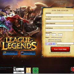 Old Login Page