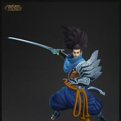 Yasuo Model 4 (by Riot Artist <a href=