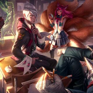 <small>Academy Ahri, Darius, Ekko, and Vladimir</small>