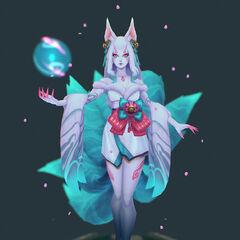 Spirit Blossom Ahri Model 8 (by Riot Artist <a href=