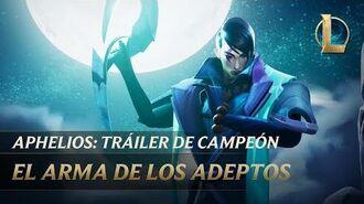 Aphelios El Arma de los Adeptos Tráiler de campeón - League of Legends