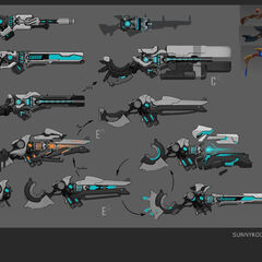 Pulsefire Caitlyn Concept 3 (by Riot Artist <a href=