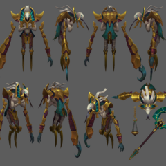 Risen Fiddlesticks Update Model