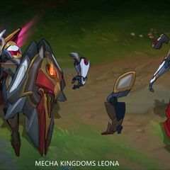 Mecha Kingdoms Leona Concept 1 (by Riot Artist <a rel=