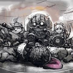 Team Builder Concept 02 (by Riot Artist Suke 'hugehugesword' Su)