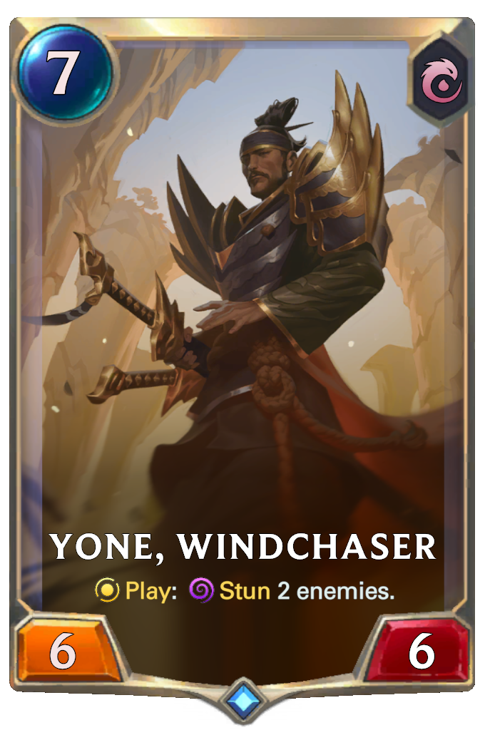 Yone, Windchaser (Legends of Runeterra) | League of Legends Wiki ...