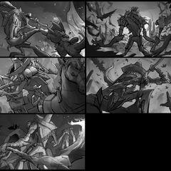 Bandito Fiddlesticks Splash Update Concept 1 (by Riot Contracted Artist <a rel=