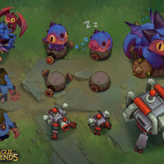 Dragon Trainer Heimerdinger Concept 13 (by Riot Artist <a href=