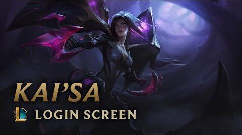 Kai'Sa, Daughter of the Void - Login Screen
