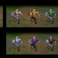 Playmaker Lee Sin Chroma Concept (by Riot Artist <a rel=