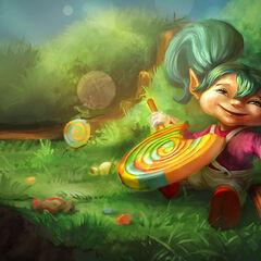 Pierwszy portret Lizakowej Poppy (stąd właśnie jej twarz znana jest wśród graczy jako wzór brzydoty)