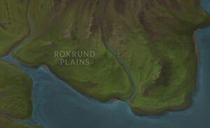 Rokrund Plains map