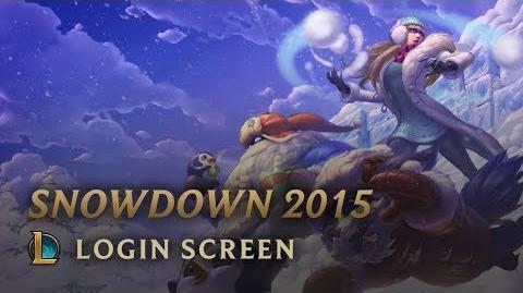 Snowdown Showdown 2015 - Login Screen