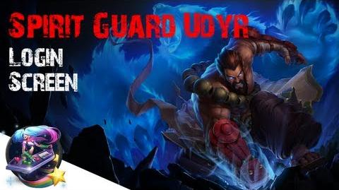 Spirit Guard Udyr - Login Screen (All Stances)