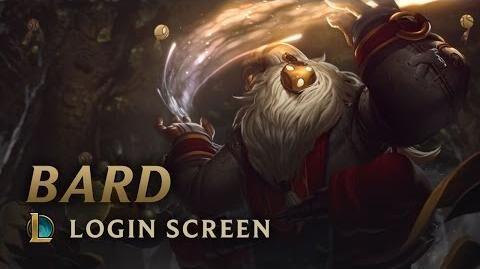 Bard, der wandelnde Beschützer - Login Screen