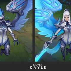 Silver Kayle Update Concept 2 (by Riot Artist <a href=
