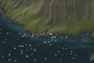 Palclyff map