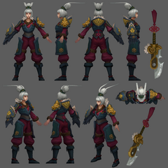 Dragonblade Riven Model