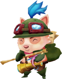 Teemo Render old