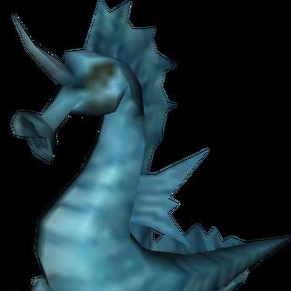 Well Seahorse Render