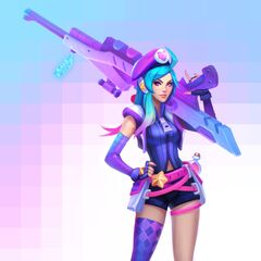 Arcade Caitlyn Concept (by Riot Artist <a href=