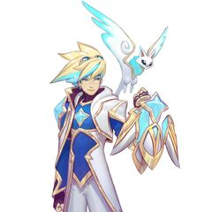 Star Guardian Ezreal Concept 1 (by Riot Artist <a href=