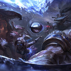 Champions in battle 14 (by Riot Artist Suke 'hugehugesword' Su)