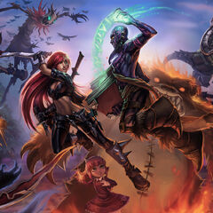Summoner's Rift Promo 4 (by Riot Artist <a href=