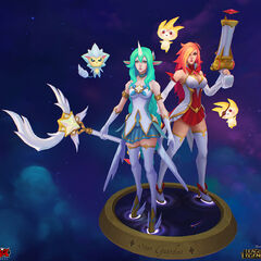 Star Guardian Soraka and Miss Fortune Model 1 (by Riot Artist <a href=