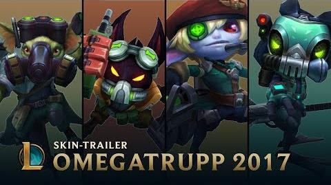 Operation Rettet Teemo Omegatrupp 2017-Skins-Trailer – League of Legends