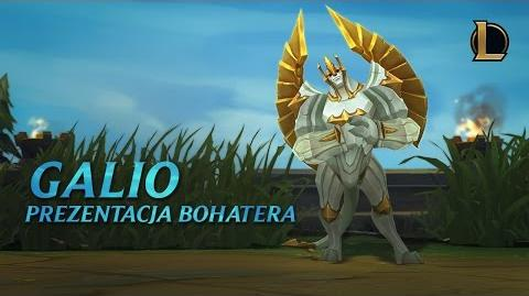 Prezentacja bohatera - Galio, Kolos