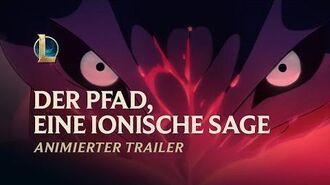 """Der Pfad, eine ionische Sage Animierter Trailer für """"Seelenblumen 2020"""" – League of Legends"""