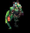 Diana Dragonslayer (Emerald)