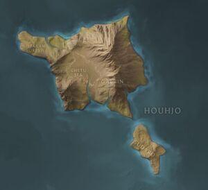 Houhjo map