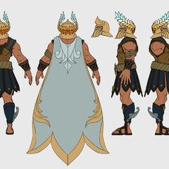 Perseus Pantheon Update Concept 2 (by Riot Artist <a rel=