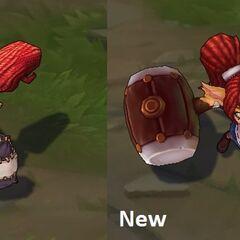 Porównanie starego i nowego modelu Laleczki Poppy