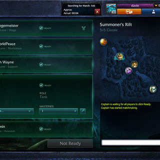Team Builder matchmaking lol