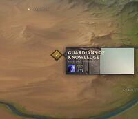 World Rune Archives map