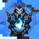 Die Wächterin Einzigartiger Ewiger Symbol