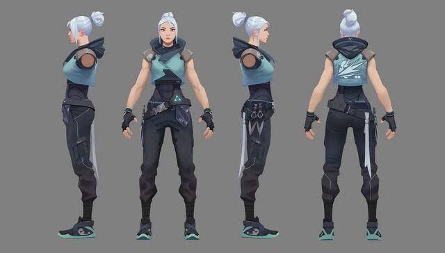 Jett Valorant Concept 01