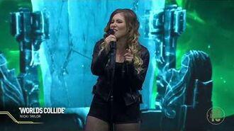 League10 Worlds Collide London Live Performance Nicki Taylor Riot Games