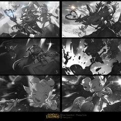 Star Guardian Lulu (w/ Poppy) Splash Concept 1 (by Riot Artist <a href=