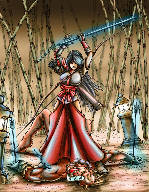 Nhan-Fiction Shrine Maiden Archer Final (1)