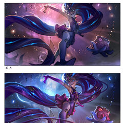 Star Guardian Zoe Splash Concept 2 (by Riot Artist <a href=
